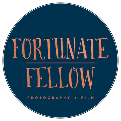fortunate fellow photography logo